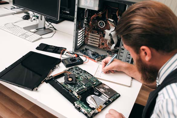 onsite field computer service technicians to your premises