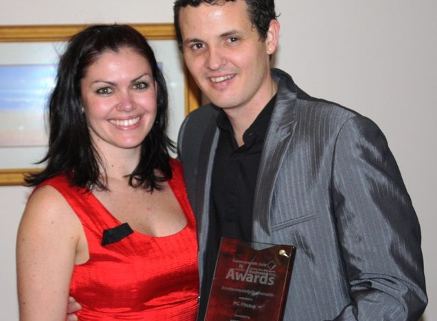 WINNER - Greater Port Macquarie Business Awards 2010 - Environmentally Sustainable Business Practices