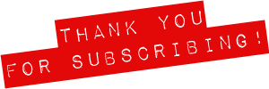 Welcome to our newsletter!