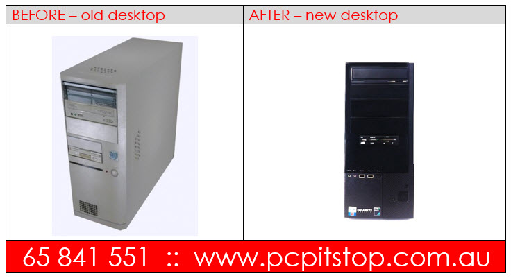 Old Computer vs New Computer :: BEFORE & AFTER
