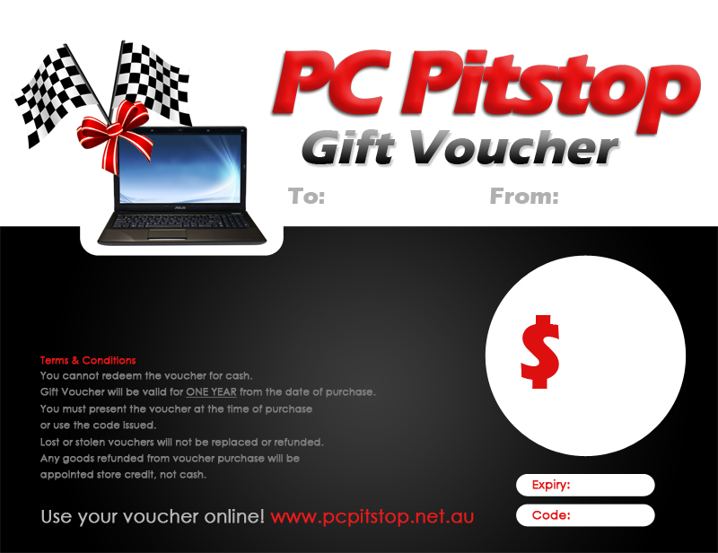 online store gift voucher