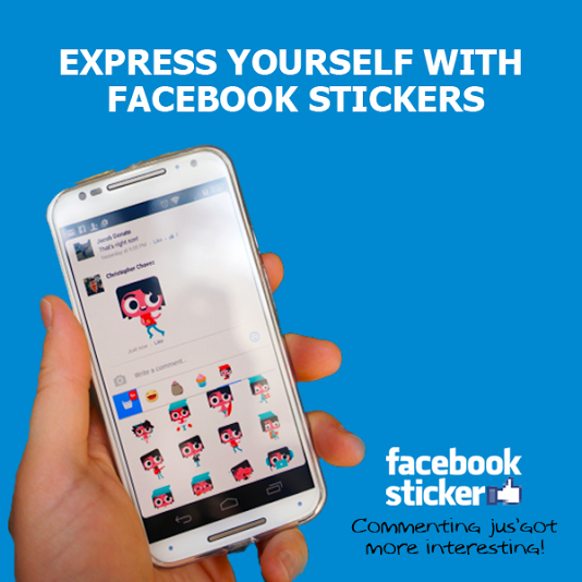SOCIAL BEAT :: Facebook Stickers