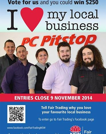 Vote PC Pitstop & Win $250!