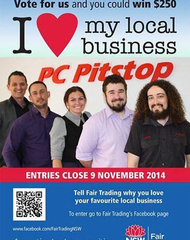 Vote PC Pitstop & Win $250!