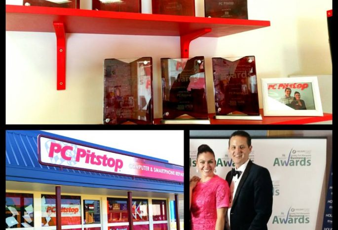ben waters samantha clark pc pitstop port macquarie business awards 3