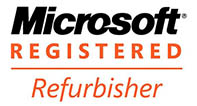 PC Pitstop is Registered with Microsoft as an Approved refurbisher of Used Computers