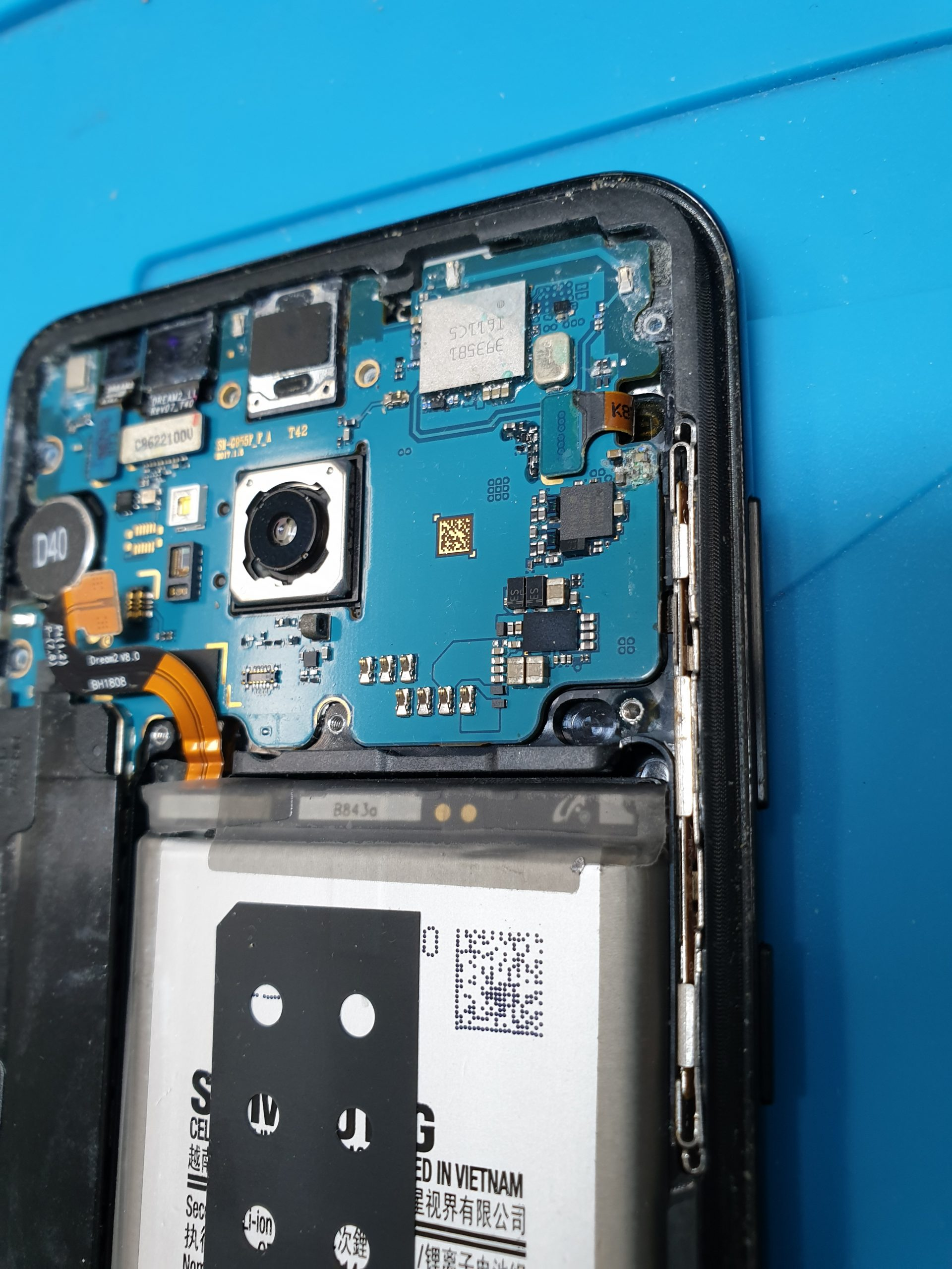 Samsung Galaxy Phone Liquid Damage Repair