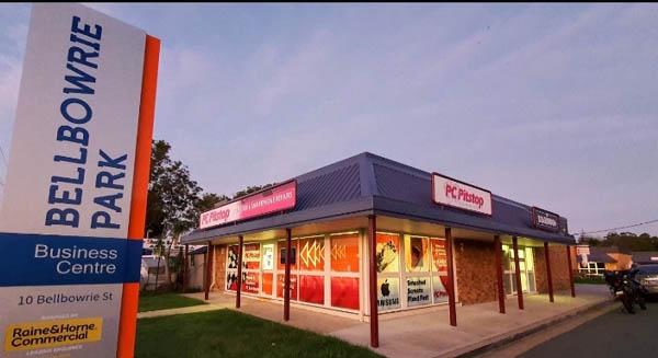 Mobile Phone Repairs Shop Exterior